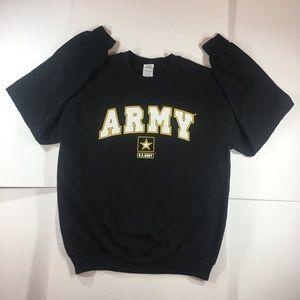 U.S. Army Black Pullover Sweatshirt